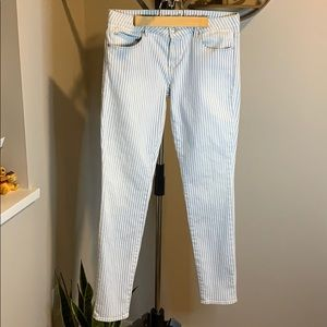Articles of Society Striped Jeans. Size 30